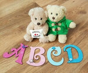 *ANY NAME & ANY COLOURS* Personalised Painted Wooden Letters Toy Box or Wall #1