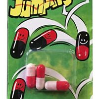 3pcs Funny Toy Magic Jumping Beans Christmas Gift Party Joke Bag Stocking Filler