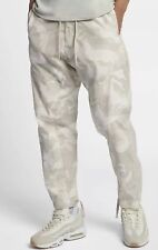 Nike NSW Woven Camo Joggers Light Bone White Men Sportswear Pants [930253-121] M