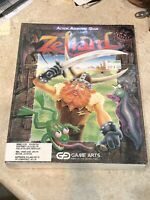 "1990 Game Arts ZELIARD Action Adventure Computer Game MS-DOS 3.5"" RARE SEALED"