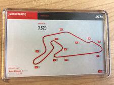 DTM 2017 Calendar Circuits / Tracks as a Fridge Magnet / Mini Photo Frame