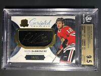 2017-18 The Cup Alex DeBrincat Scripted Swatches Rookie /35 BGS 9.5 10 Auto
