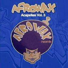 DJ Afrowax - Acapellas, Vol. 3 [New CD] Manufactured On Demand