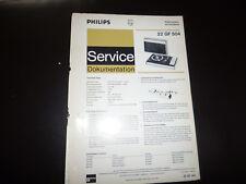 Original Service Manual  Philips 22GF504