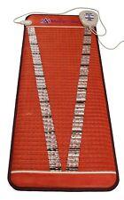 MediCrystal Far Infra-Red V-Mat - FIR PEMF Amethyst Heating Pad - Midsize 24x59