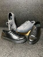 Doc Martens Dante Leather Sneakers Size 9 M Lace Up Low Cut Casual Lot Of 2