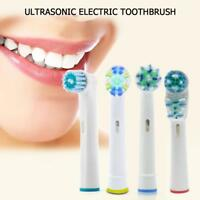4X Replacement Toothbrushes Heads for Braun Oral B Hygiene Cross Electric Floss