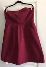 The Limited Outback Red A Line Tube Dress Sz 16