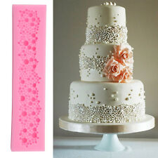 Pearl Perle Silikon Ausstecher Form Hochzeit Marzipan Fondant Torten Mould