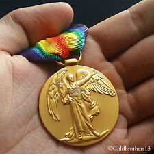 Victory Medal With Ribbon  WW1 British Repro Great War For Civilisation 1914-19
