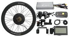 """48V 1500W 26"""" Threaded Rear Wheel Ebike Conversion Kit with Sine Wave Controller"""