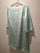 NWT Dress Mini 3/4 Sleeves Mint Green M Dainty Hooligan On Sale