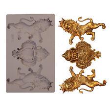 ROYAL EMBLEM - RE-DESIGN Prima Decor Moulds Molds Food Safe Silicone #647414