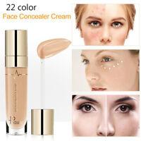 Pudaier Face Corrector Full Cover Liquid Foundation Makeup Dark Circle Concealer