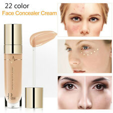 Pudaier Face Corrector Full Cover Liquid Foundation Makeup Dark Circle Concealer