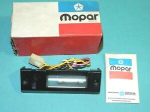 NOS Mopar 1975 Chrysler, Dodge, Plymouth Map & Courtesy Lamp Package