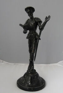 Don Quixote Cast Iron Figure-Statue Russia USSR