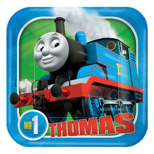8 Thomas Tank Engine Party Paper Plates Small Size 18cm Thomas Party Tableware