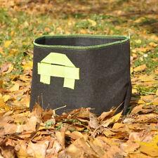 5PCS x 15 Gallon Fabric Grow Pots Grow Bags Smart Dirt Plant with 2 Nylon Handle