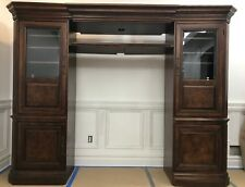 Hooker Furniture 4 Pc TV Entertainment Center Mahogany Solid Wood .
