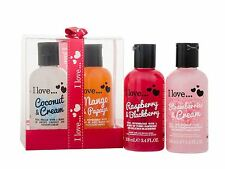 I Love... Bubble Bath 100ml x 4 Gift Set For Her Women Body Care