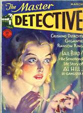 The Master Detective 1931 Magazine Great Cover art by Dalton Stevens  Jail-Bird