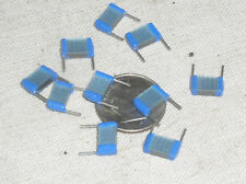 10 SQUARE STACKED MICA GLASS CAPACITOR .033UF 33NF 250V 5% MILITARY MIL 333 USA