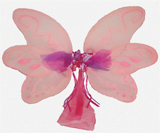 Hand Crafted Dress-Up Costume Butterfly Fairy Wings - Pink Wings Large NEW!