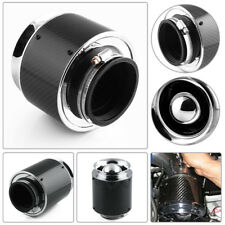 "3"" Inlet /5"" Carbon Fiber Look Hi-Flow Air Filter For Cold Air/Short Ram Intakes"