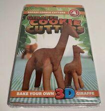 (3D Safari) -  3D GIRAFFE Safari Cookie Cutters