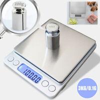 Balance de Cuisine Électronique 3000g/0.1g scale Numérique Haute Précision FR
