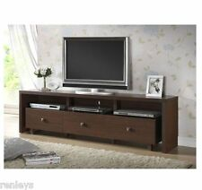 Modern TV Stand Entertainment Media Center Home Theater Console Wood Furniture