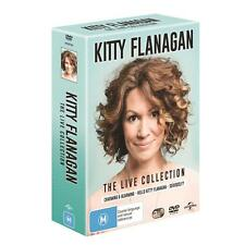 BRAND NEW Kitty Flanagan - Live Collection (DVD, 2017, 3-Disc Set) R4 Stand-Up