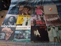 Lot Of 11 Reggae Oldies Vinyl LP's #4