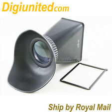 LCD Viewfinder Extender 2.8x for Nikon 1 mount V1 J1 J2 V2 camera with sticker