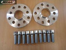 SKODA Hubcentric 5 trous 15mm Espaceur Roue Kit & Siège Conique Boulons 5x100 / 5x112