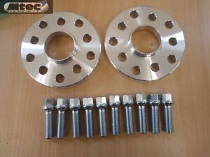 Seat Hubcentric MTEC 15mm Wheel Spacers & Radius Bolts 5x100/5x112