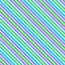 Wilmington Sparkle Magic Shine 83107 446 Blue Diagonal Stripe Cotton Fabric