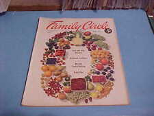 JULY 1953 FAMILY CIRCLE MAGAZINE GREAT 50S STYLES