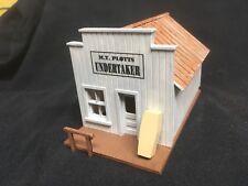 Old West - M.T. Plotts - Undertaker - HO-304 - Easy to build HO Scale kit