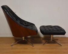 Milo Baughman for Thayer Coggin Lounge Chair and Ottoman