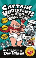 Captain Underpants and the Attack of the Talking Toilets by Dav Pilkey, Acceptab