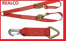 RED Winch Brother & Tow Eye Reducer Straps for Recovery