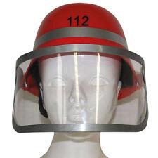 European Style Fireman Fire Fighter Helmet Costume Accessory Boys Mens