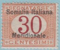 Somalia J4 Mint Hinged OG * - No Faults Very Fine!