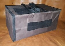 Portable Folding Dog, Cat, Pet Cage Car Travel Bag (Brown Color,Medium Size)P190