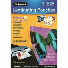Fellowes Super Quick A4 Laminage Sachets 80 µ (Pack de 100) [BB54400]