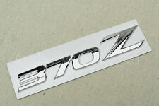 1Pcs Car Chrome 370Z Metal Auto Trunk Lid Sticker Badge Emblem Decoration