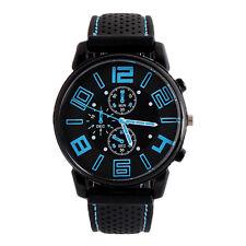 Men's Watches Stainless Steel Quartz Analog Boy Sport Dial Wrist Watch CA