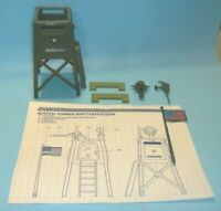 1984 GI Joe Guard Watch Tower Battle Station Playset w/ Blueprints *Complete